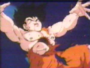 More of Goku's wound